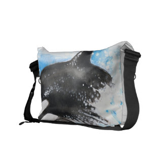 Orca Breaching Courier Bag