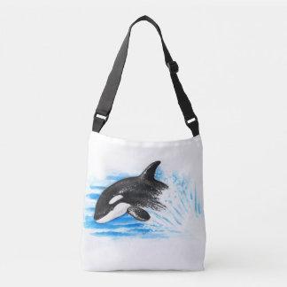 Orca Breaching Crossbody Bag
