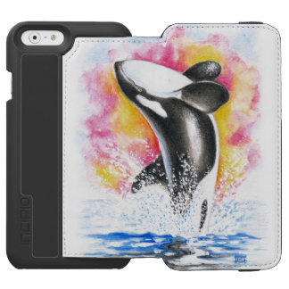 Orca Breaching iPhone 6/6s Wallet Case