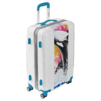 Orca Breaching Luggage