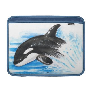 Orca Breaching MacBook Air Sleeve