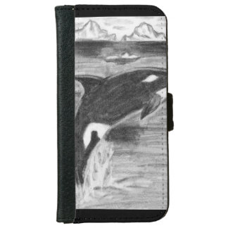 Orca Breaching iPhone 6 Wallet Case