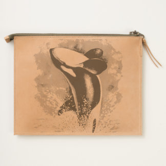 Orca Breaching Travel Pouch