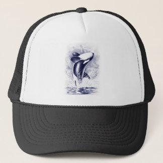 Orca Breaching Trucker Hat
