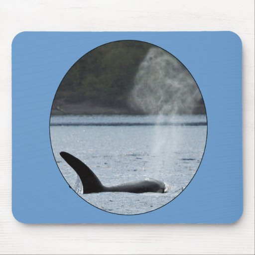 Orca Breath: BIG Mouse Pads