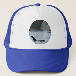Orca Breath: BIG Trucker Hat