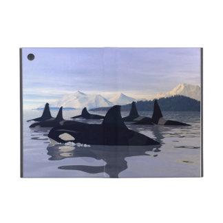 Orca brillante del agua iPad mini protectores