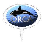 Orca Cake Pick