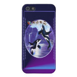 Orca Christmas Cover For iPhone 5