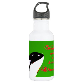 Orca Christmas Hops to the Holiday 18oz Water Bottle