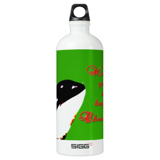 Orca Christmas Hops to the Holiday SIGG Traveler 1.0L Water Bottle