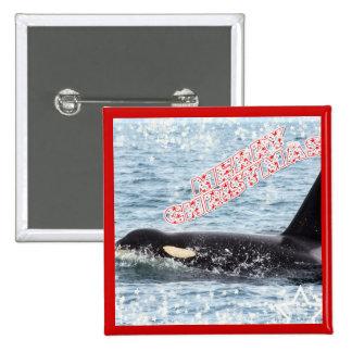 Orca Christmas Winter Wonderland Holiday Pins