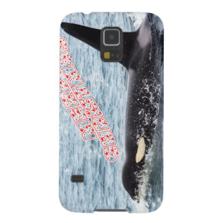 Orca Christmas Winter Wonderland Holiday Cases For Galaxy S5