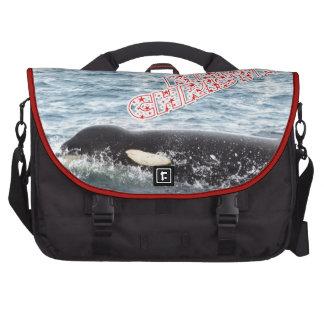 Orca Christmas Winter Wonderland Holiday Laptop Commuter Bag