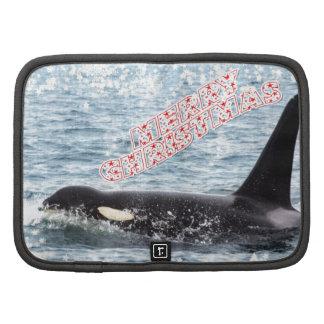 Orca Christmas Winter Wonderland Holiday Folio Planner