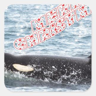 Orca Christmas Winter Wonderland Holiday Stickers