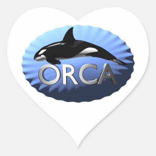 Orca Colcomanias Corazon