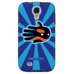 Hand shaped Orca Cute Killer Whale Dolphin Galaxy S4 Case