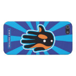 Hand shaped Orca Cute Killer Whale Dolphin iPhone SE/5/5s Case