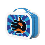 Hand shaped Orca Cute Killer Whale Dolphin Lunch Box