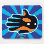Hand shaped Orca Cute Killer Whale Dolphin Mouse Pad