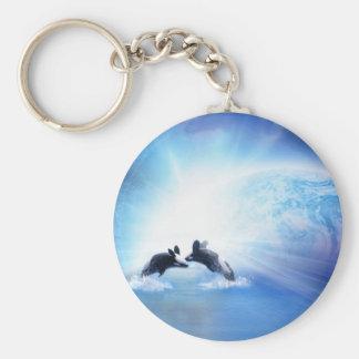 Orca Dance Keychain