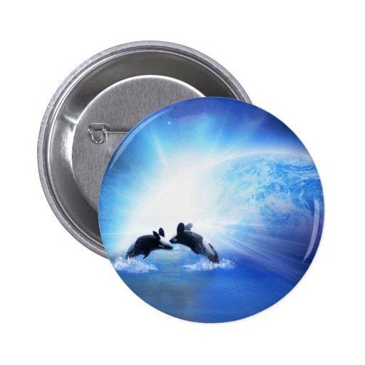 Orca Dance Pin