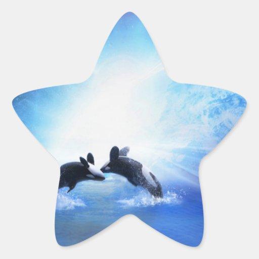 Orca Dance Sticker