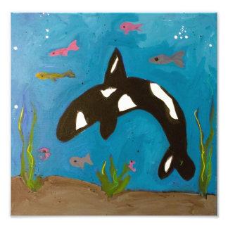 Orca de Genevieve y de Gina Cojinete