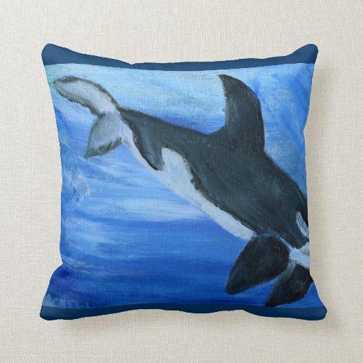 Orca de la orca almohada