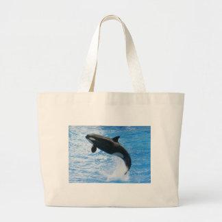 Orca de la orca bolsas de mano