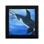 Orca de la orca cajas de joyas