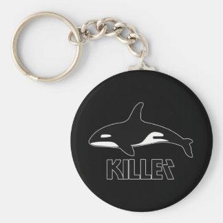 Orca de la orca de la muerte llaveros personalizados