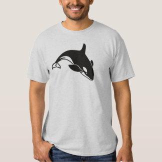 Orca de la orca de la natación playeras