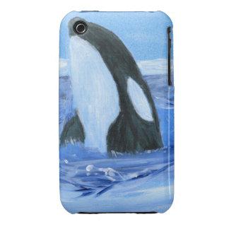 Orca de la orca Case-Mate iPhone 3 funda