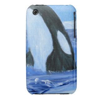 Orca de la orca Case-Mate iPhone 3 protector