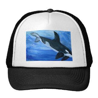 Orca de la orca gorros bordados