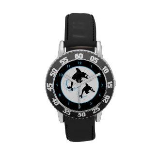 Orca de la orca reloj