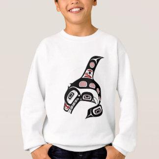 Orca del noroeste del arte del Haida de la Costa Camisas
