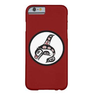 Orca del noroeste del arte del Haida de la Costa Funda Para iPhone 6 Barely There