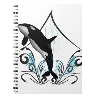 Orca divertida libreta