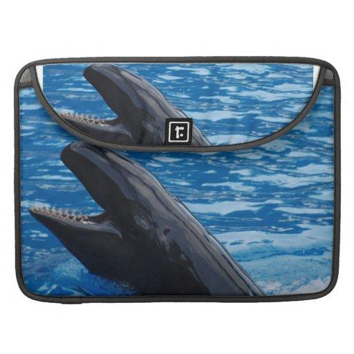 "Orca falsa 15"" manga de MacBook Funda Para Macbooks"