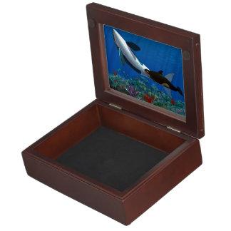 Orca Family Keepsake Boxes