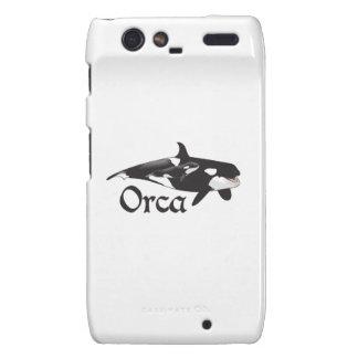 Orca Droid RAZR Carcasas