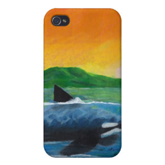 Orca iPhone 4 Carcasa