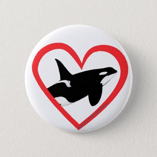 Orca Heart Button