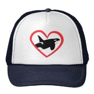 Orca Heart Hats
