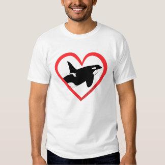 Orca Heart T Shirts