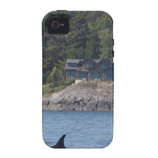 Orca hermosa de la orca en el estado de Washington Funda Para iPhone 4/4S