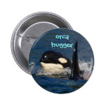 Orca Hugger 2 Inch Round Button
